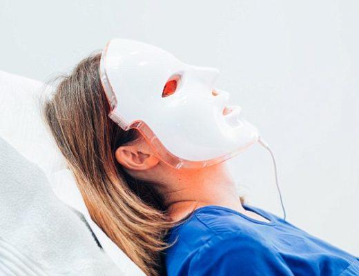 fml- wacky face masks kate kerr annabel cole john godwin (annabel laying down wearing mask)
